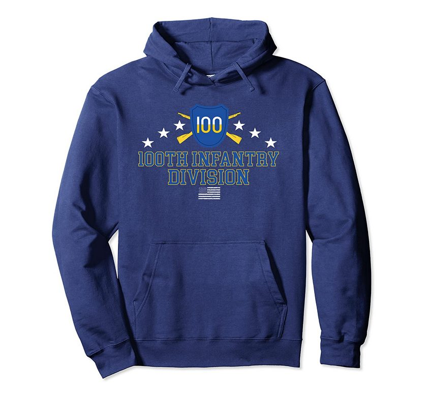 100th Infantry Division Pullover Hoodie