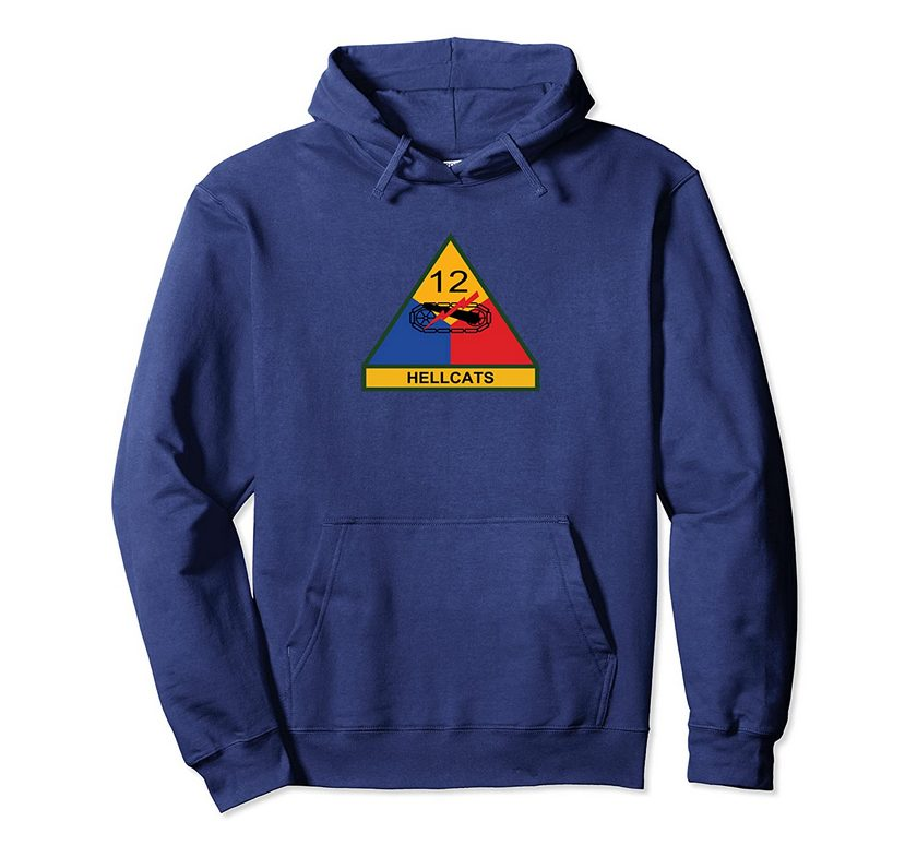 12th Armored Division Pullover Hoodie