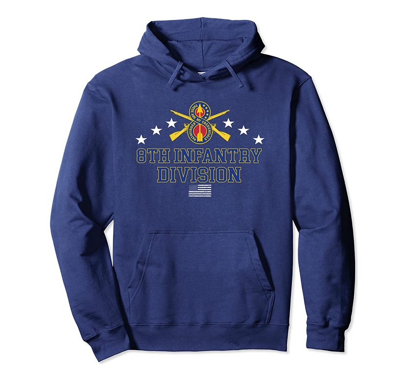 8th Infantry Division Pullover Hoodie