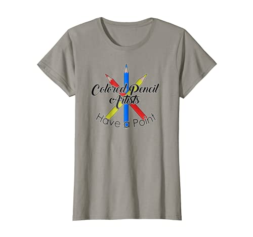 Colored Pencil Artists Tee Funny Novelty Art Tshirt